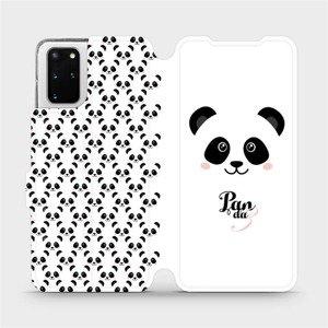 Flipové pouzdro Mobiwear na mobil Samsung Galaxy S20 Plus - M030P Panda Amálka