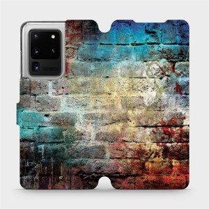 Flipové pouzdro Mobiwear na mobil Samsung Galaxy S20 Ultra - V061P Zeď