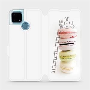 Flip pouzdro Mobiwear na mobil Realme 7i - M090P Makronky - have a nice day