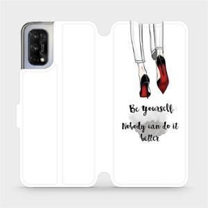 Flipové pouzdro Mobiwear na mobil Realme 7 5G - M046P Be yourself