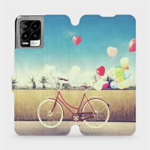 Flip pouzdro Mobiwear na mobil Realme 8 - M133P Kolo a balónky