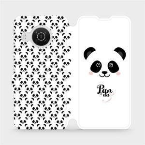Flip pouzdro Mobiwear na mobil Nokia X20 - M030P Panda Amálka