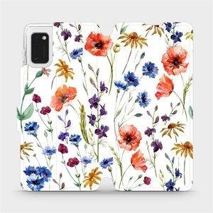 Flip pouzdro Mobiwear na mobil Samsung Galaxy A41 - MP04S Luční kvítí