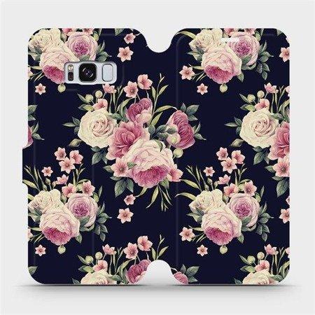 Flipové pouzdro Mobiwear na mobil Samsung Galaxy S8 - V068P Růžičky