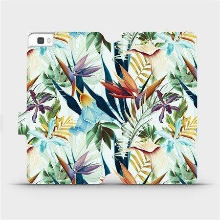 Flipové pouzdro Mobiwear na mobil Huawei P8 Lite - M071P Flóra