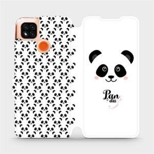 Flipové pouzdro Mobiwear na mobil Xiaomi Redmi 9C - M030P Panda Amálka