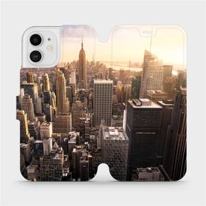 Flipové pouzdro Mobiwear na mobil Apple iPhone 12 - M138P New York