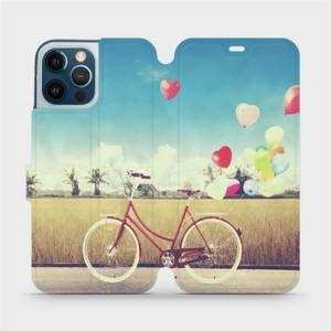 Flipové pouzdro Mobiwear na mobil Apple iPhone 12 Pro Max - M133P Kolo a balónky