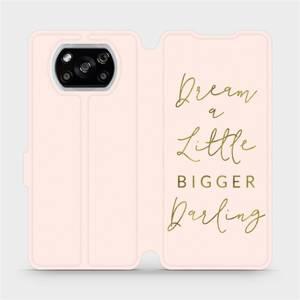 Flipové pouzdro Mobiwear na mobil Xiaomi POCO X3 NFC - M014S Dream a little