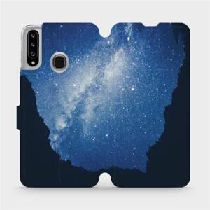 Flipové pouzdro Mobiwear na mobil Samsung Galaxy A20S - M146P Galaxie