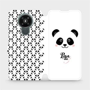 Flipové pouzdro Mobiwear na mobil Nokia 3.4 - M030P Panda Amálka