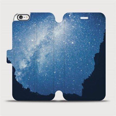 Flipové pouzdro Mobiwear na mobil Apple iPhone 6 / iPhone 6s - M146P Galaxie