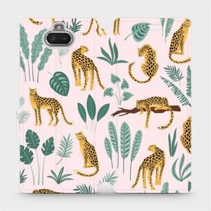 Flip pouzdro Mobiwear na mobil Sony Xperia 10 - MP07S Leopardi