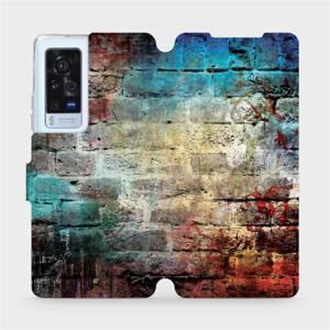 Flip pouzdro Mobiwear na mobil Vivo X60 Pro 5G - V061P Zeď