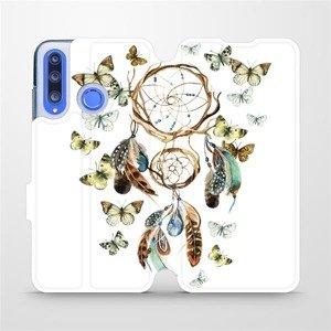 Flipové pouzdro Mobiwear na mobil Honor 20 Lite - M001P Lapač a motýlci