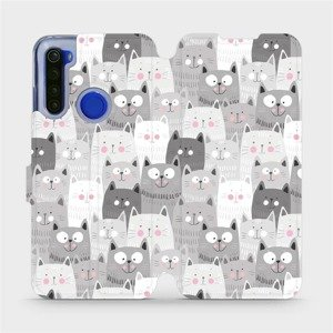 Flipové pouzdro Mobiwear na mobil Xiaomi Redmi Note 8T - M099P Kočičky
