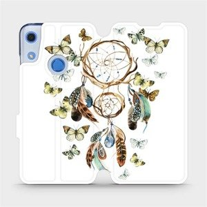 Flipové pouzdro Mobiwear na mobil Huawei Y6S - M001P Lapač a motýlci