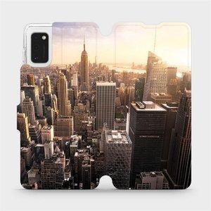 Flipové pouzdro Mobiwear na mobil Samsung Galaxy A41 - M138P New York