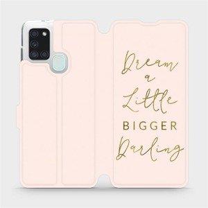 Flipové pouzdro Mobiwear na mobil Samsung Galaxy A21S - M014S Dream a little