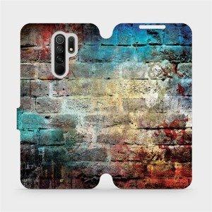 Flipové pouzdro Mobiwear na mobil Xiaomi Redmi 9 - V061P Zeď