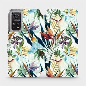 Flipové pouzdro Mobiwear na mobil Xiaomi MI 10T Pro - M071P Flóra