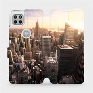 Flipové pouzdro Mobiwear na mobil Motorola Moto G 5G - M138P New York