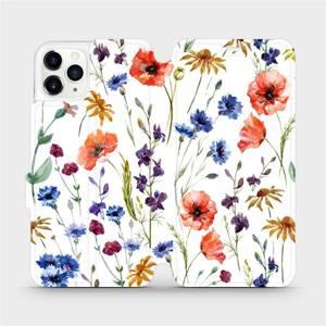Flip pouzdro Mobiwear na mobil Apple iPhone 11 Pro Max - MP04S Luční kvítí