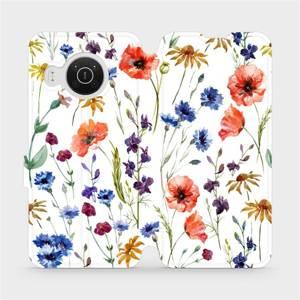 Flip pouzdro Mobiwear na mobil Nokia X20 - MP04S Luční kvítí