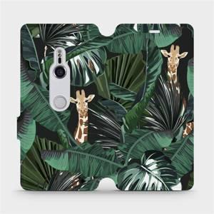 Flip pouzdro Mobiwear na mobil Sony Xperia XZ3 - VP06P Žirafky