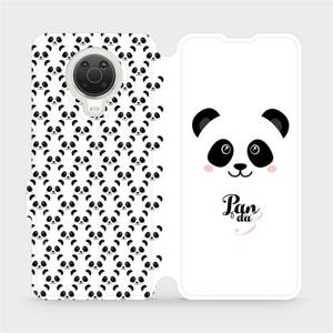 Flip pouzdro Mobiwear na mobil Nokia G20 - M030P Panda Amálka