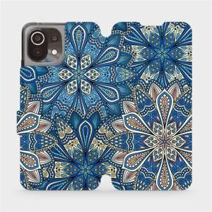 Flip pouzdro Mobiwear na mobil Xiaomi 11 Lite 5G NE - V108P Modré mandala květy