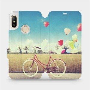 Flipové pouzdro Mobiwear na mobil Xiaomi Mi A2 Lite - M133P Kolo a balónky