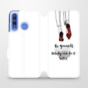 Flipové pouzdro Mobiwear na mobil Honor 20 Lite - M046P Be yourself