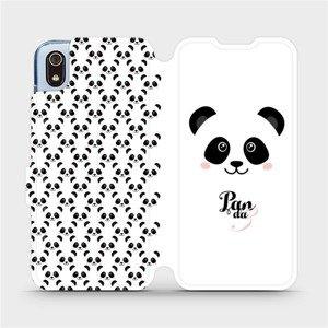 Flipové pouzdro Mobiwear na mobil Xiaomi Redmi 7A - M030P Panda Amálka