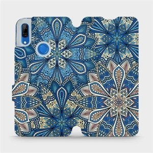 Flipové pouzdro Mobiwear na mobil Huawei P Smart Z - V108P Modré mandala květy