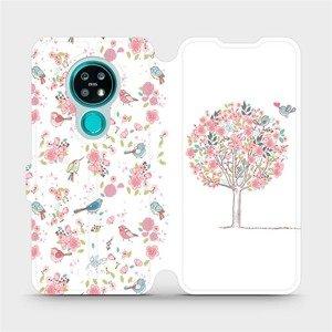 Flipové pouzdro Mobiwear na mobil Nokia 7.2 - M120S Strom a ptáčci
