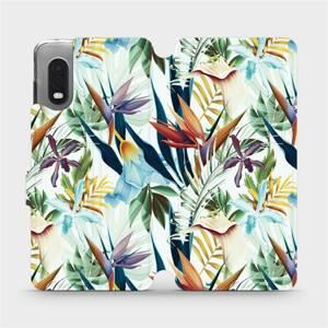 Flipové pouzdro Mobiwear na mobil Samsung Xcover PRO - M071P Flóra