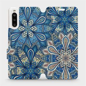 Flipové pouzdro Mobiwear na mobil Sony Xperia 10 II - V108P Modré mandala květy