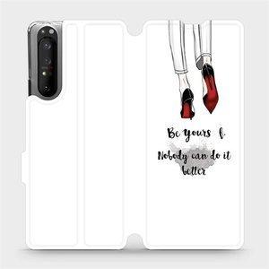 Flipové pouzdro Mobiwear na mobil Sony Xperia 1 II - M046P Be yourself