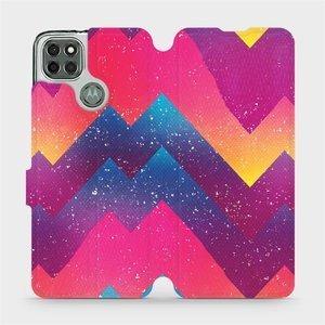 Flipové pouzdro Mobiwear na mobil Motorola Moto G9 Power - V110S Barevné klikyháky