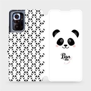Flipové pouzdro Mobiwear na mobil Xiaomi Redmi Note 10 Pro - M030P Panda Amálka
