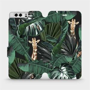 Flip pouzdro Mobiwear na mobil Huawei P10 - VP06P Žirafky