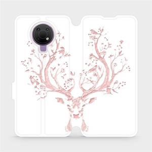 Flip pouzdro Mobiwear na mobil Nokia G10 - M007S Růžový jelínek