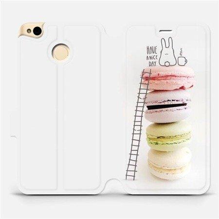 Flipové pouzdro Mobiwear na mobil Xiaomi Redmi 4X - M090P Makronky - have a nice day