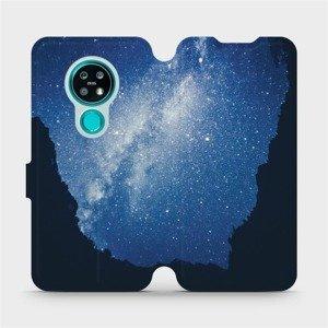 Flipové pouzdro Mobiwear na mobil Nokia 7.2 - M146P Galaxie