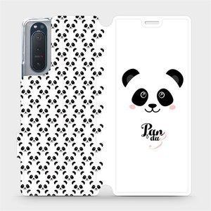 Flipové pouzdro Mobiwear na mobil Sony Xperia 5 II - M030P Panda Amálka