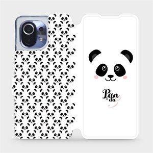 Flipové pouzdro Mobiwear na mobil Xiaomi Mi 11 - M030P Panda Amálka