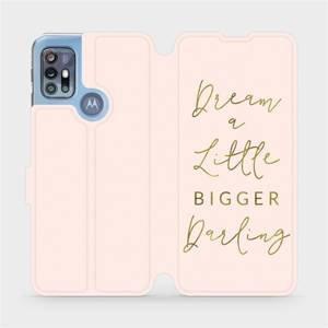 Flipové pouzdro Mobiwear na mobil Motorola Moto G20 - M014S Dream a little