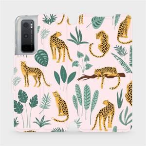 Flip pouzdro Mobiwear na mobil Vivo Y70 - MP07S Leopardi