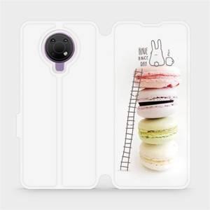 Flip pouzdro Mobiwear na mobil Nokia G10 - M090P Makronky - have a nice day